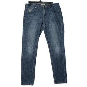 Earl Jeans Embellished Straight Jeans - Size 10